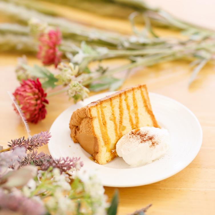 自家製シフォンケーキ